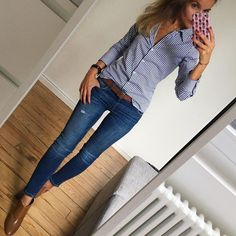 I wonder if you have to be that thin for that outfit to look good Casual Work Outfit Winter, Simple Work Outfits, Jeans Outfit For Work, Look Casual, Outfits Casual, Casual Summer, Tan Pants Outfit, Office Outfits, Business Outfits