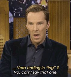 Benedict Cumberbatch on The Tonight Show with Jimmy Fallon