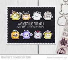 My Favorite Things FAB-BOO-LOUS FRIENDS Clear Stamps BB48 Preview Image