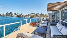 IF YOU don't have the budget for a $35 million Kurraba Point house? No worries, former Woolies boss Paul Simons, has listed his penthouse in the same spot with the same views for $10 million.