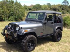 1985 CJ7 Jeep Cj7, Jeep Wrangler, Jeep Accessories, Jeep Stuff, Toys For Boys, Jeeps, Vintage Cars, Cool Cars, Badass