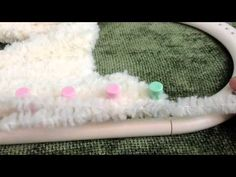 Loom Knit - Loose slip knot, stretchy bind-off/ cast-off for flat panel