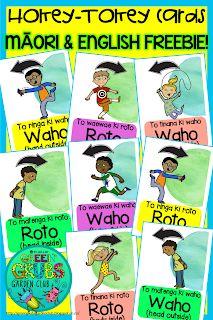 Green Grubs Garden Club: Lyrics for the Māori version of the 'Hokey-Tokey' song! Play Based Learning, Project Based Learning, Maori Songs, Classroom Commands, Waitangi Day, Action Cards, Learning Cards, Maori Art, Garden Club