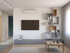 Ідея, дизайн, візуалізації та креслення  Elite Interior Flat Screen, Bedrooms, Home, Blood Plasma, Bed Room, Flatscreen, Bedroom, Plate Display, Haus