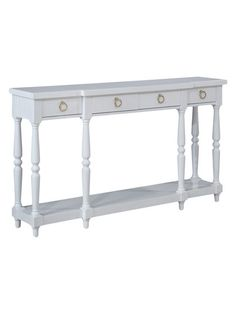 4-Drawer Console Table by Coast to Coast at Gilt