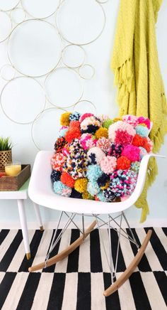 DIY Pom Pom Pillow | Jo-Ann