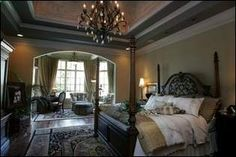 OMG, this is a Beautiful master bedroom........MINE
