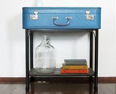 Quirky Uses for Vintage Suitcases