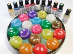 DIY Glitter Rainbow Smile Jelly Pudding 무지개 스마일 젤리 푸딩 만들기 놀이 식완