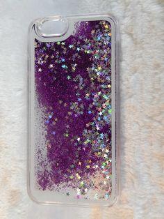 68114fc5b5e Glitter Stars Bling Dynamic Liquid Quicksand Case Cover For iPhone 6/6S  6plus/6S
