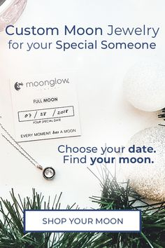 Moonglow is jewelry that features the picture of the moon from the date of your choice. Your moon will absorb light and glow in dark environments. Perfect Gift For Her, Gifts For Her, Soul On Fire, Moon Jewelry, Amazon Products, Moon Necklace, Planner Ideas, Jewelry Organization, Good To Know