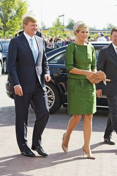 Dutch King Willem Alexander and Queen Maxima attends the 10th anniversary of the Protestant Church in The Netherlands on 14.09.2014