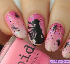 The Digital Dozen Does Mythical Creatures | Fairy Nails - Painted Fingertips