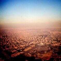 Aerial shot. #cairo by gettingcloseto