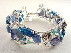 Eni Oken's Jewelry Journal: YOJ 2007 Week 15 - Seafoam Cuff