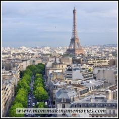 French Fridays - Exploring the Panthéon, Grande Arch and the view from the Arc de Triomphe - Mom Making Memories Making Memories, Paris Skyline, Arch, Tower, Explore, Mom, Travel, Longbow, Viajes