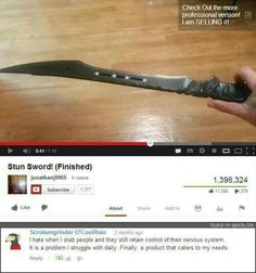 The Struggle is Real Funny Youtube Comments, Funny Comments, Scary Funny, The Funny, Hilarious, Funny Pins, Funny Stuff, Random Stuff, Funny Shit