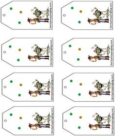 Free printable toy story tags - could go around party favors