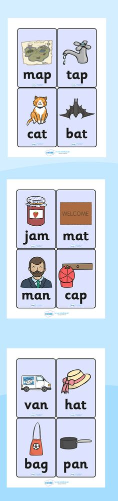 Twinkl Resources >> CVC Word Cards >> Printable resources for Primary, EYFS, KS1 and SEN.  Thousands of classroom displays and teaching aids! Literacy, English, CVC, Words, Word Cards