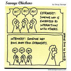 Extrovert / Introvert