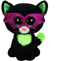 NWT TY BEANIE BABIES JINXY THE CAT HALLOWEEN BLACK /& ORANGE RETIRED