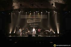 During rehearsal for Silent Siren Live in Jakarta. Venue at Upperoom Jakarta, sound supported by Soundworks, and lighting by Lightworks