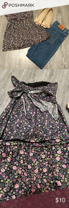 Cute Floral Top! EUC! Tops