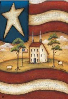 americana decor | com brings our vast collection of Country Home Decor, Primitive Decor ...