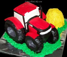 case tractor cakes | International Harvester Case Tractor Cake
