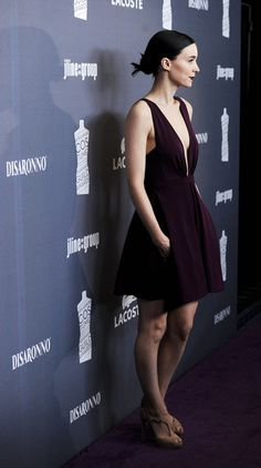 Rooney Mara - 14th Annual Costume Designers Guild Awards With Presenting Sponsor Lacoste - Red Carpet
