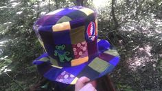 Custom made to Order Knotty Mama UpCycled Patchwork  Festival Top Hat