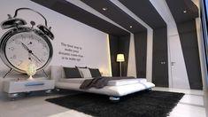 black and white bedroom | Elegant Black-white Bedroom - Elegant Bedrooms to Make You Sleep ...
