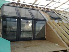 loft conversion with a balcony
