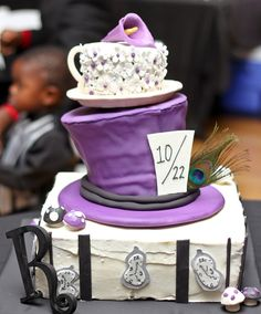 Alice in Wonderland Wedding Cake for my sister *photo courtesy of Piccadilly Pictures*