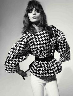 Melissa Stasiuk by Richard Bush for Vogue Russia April 2012