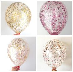 NEW ARRIVE!12inch Metallic Rose Gold Wedding Decoration Gold Clear Confetti Balloons First Birthday, Baby Shower Party Supplies-in Party DIY Decorations from Home & Garden on Aliexpress.com   Alibaba Group