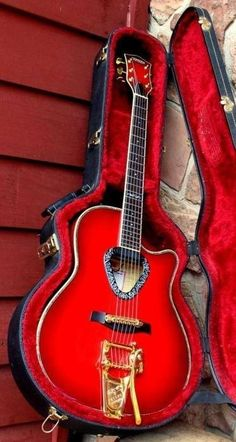 Gretsch Acoustic with Bigsby?