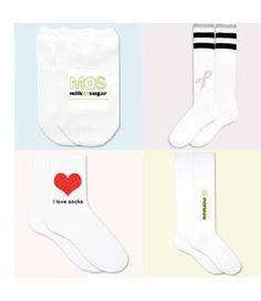 Milk or Sugar Custom Products - Sockprints Custom Socks
