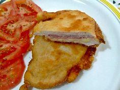 Filetitos de pollo rellenos