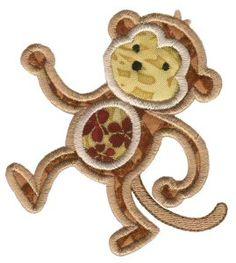 Jungle Daze Applique-Monkey