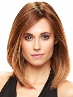 15 Classy & Easy Medium Hairstyles For Heart Shaped Faces : CircleTrest