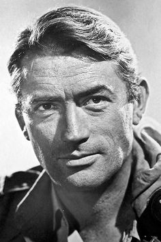 gregory peck photographed by cornel lucas, 1957.