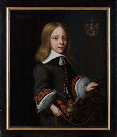 Anonymous, portrait of Ruurd Gerrolt van Burmania with a goat, 1655, Leeuwarden, Fries Museum