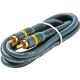 RCA Audio/Video Cable (100 feet) by Steren. $16.30. Hi-def home theater RCA interconnects. Top-line performance for home theater AV applications. 24k gold-plated RCA interconnects. 100'. Save 40% Off!