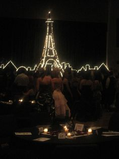 "Night in Paris Prom Theme | Night in Paris"" was the theme. We have some amazingly creative and ..."