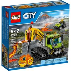 Build, play and explore with LEGO City play sets. Create realistic buildings such as LEGO City Police. Just like a real city! Lego City, Legos, Van Lego, Lego Construction, Lego Mindstorms, Chenille, Volcanoes, Creative Play, Building Toys
