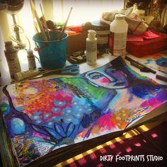 Dirty Footprints Studio: Watch My FREE Painting The Feminine Spreecast!