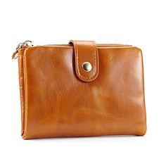 Vintage carteras de piel aceite corta cartera económica para mujeres y hombres [ANW61039] - €26.74 : bzbolsos.com, comprar bolsos online