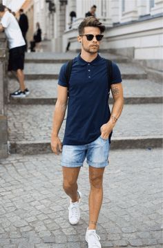 differently e995a ffb81 Love wearing polo shirts and not sure how to style them. Dont worry, The  Unstitchd is here with 6 amazing ways to style your polo shirts