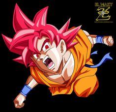 Goku ssg dbs by El maki Z